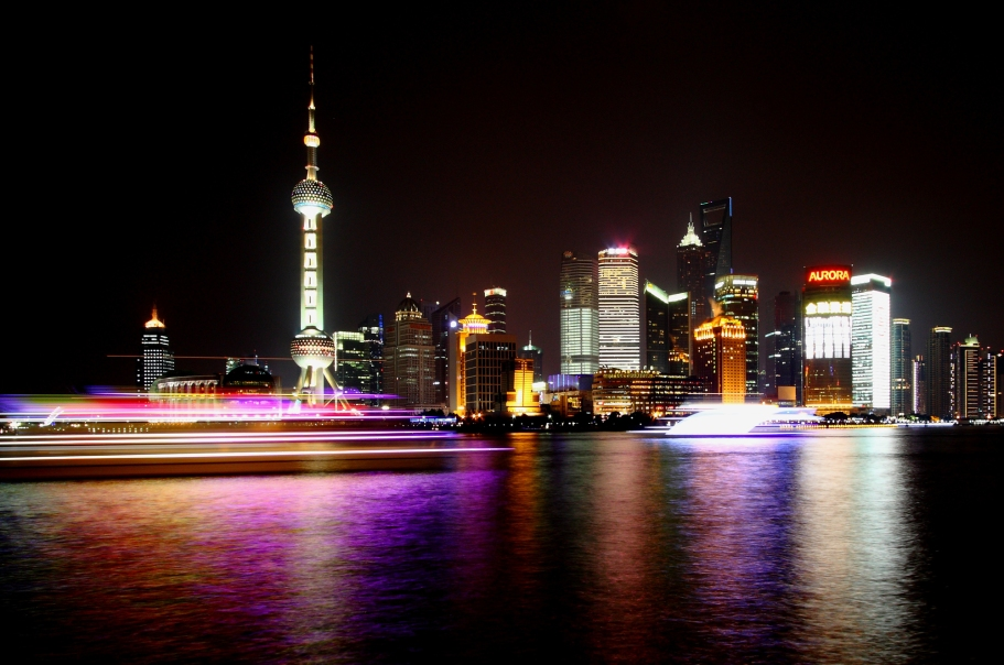 Shanghai night scene