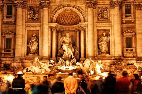Trevi Fountain, Rome