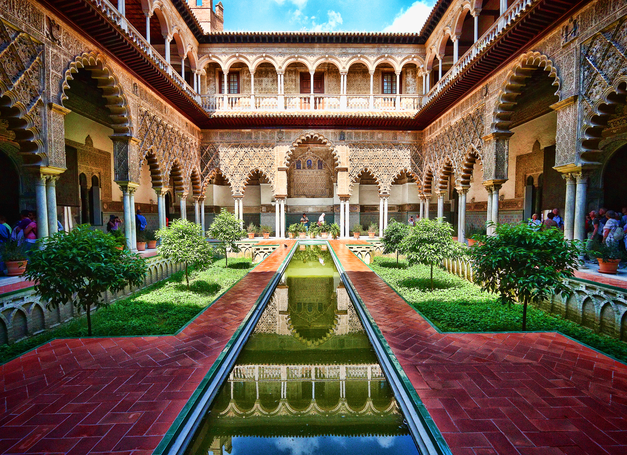 Al andalus le pass arabo berb re de l 39 europe for Piscine sevilla