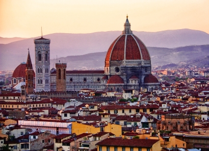 A sunset in Florence I