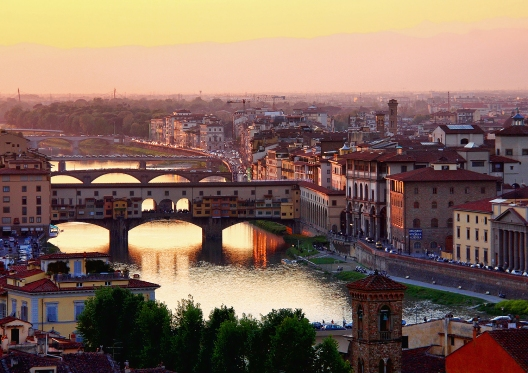 A sunset in Florence II