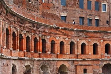 Trajan's Market Ruins, Rome.