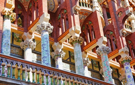 Floral pillars