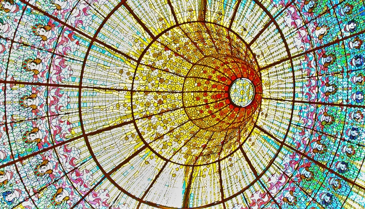 Burst of color - the gorgeous skylight