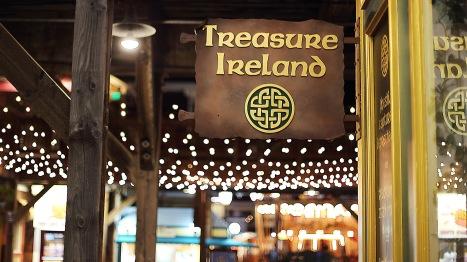 Treasure Ireland - Ireland/ Island geddit?