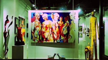 Art gallery, Jefferson St